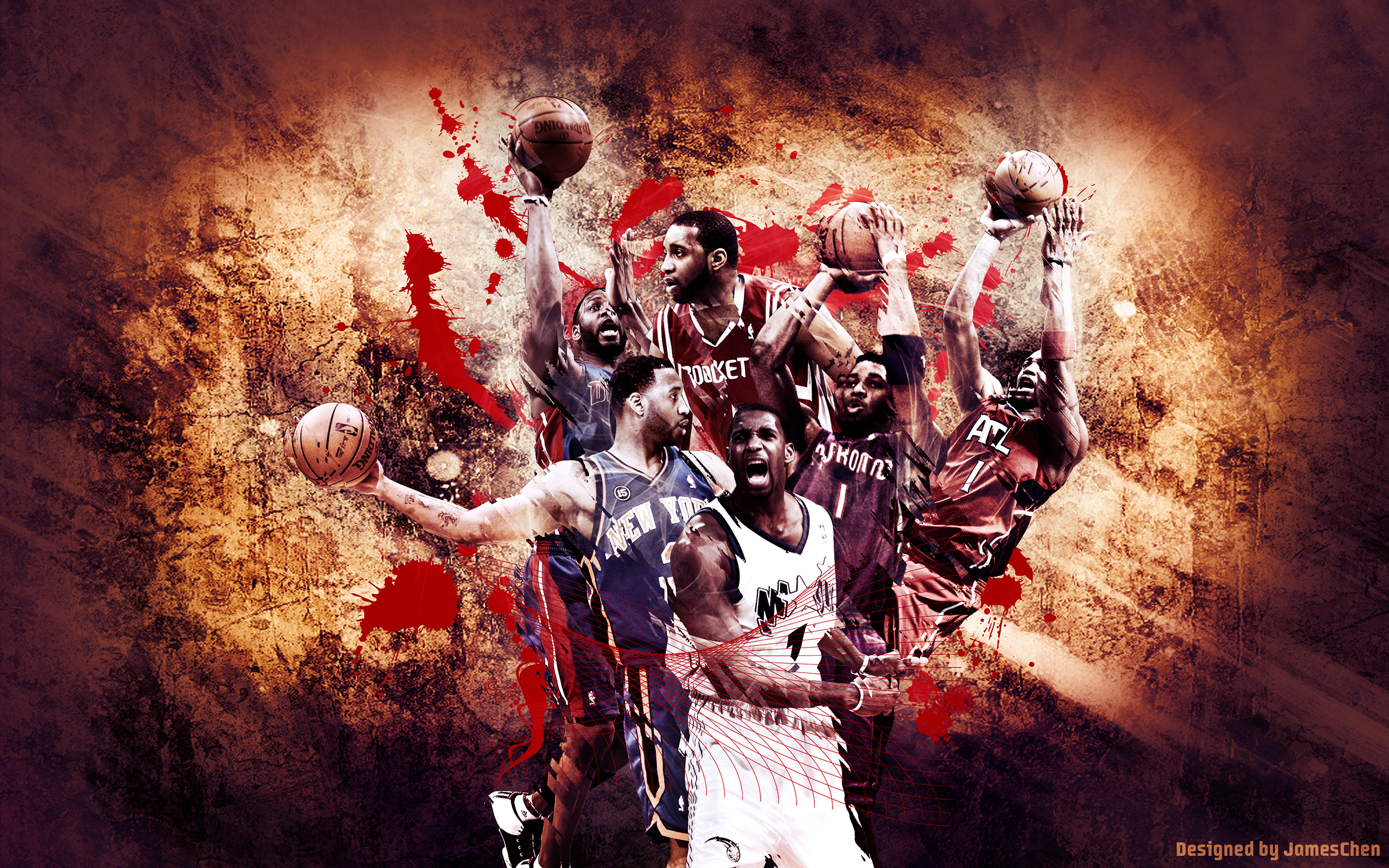 Tracy Mcgrady Nba Career Sport Wallpapers Whollescom 2560x1600px