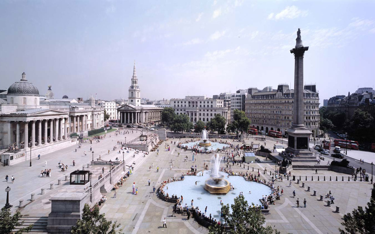 Projects / Trafalgar Square Redevelopment London, UK 1996 - 2003
