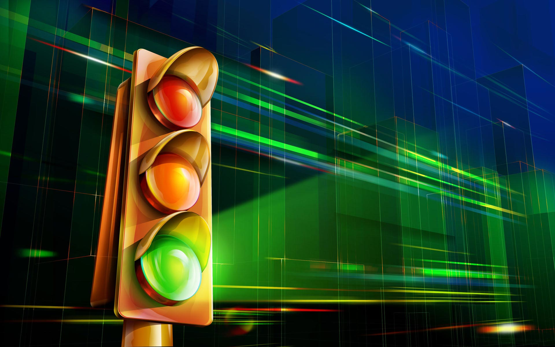Traffic Lights Wallpaper 45041 1920x1080 px