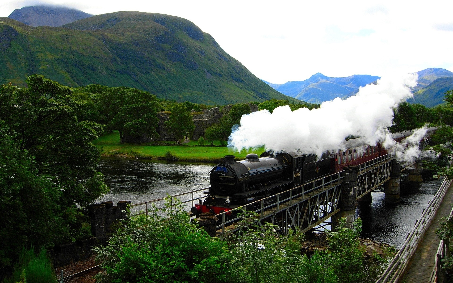 Steam Train Wallpaper