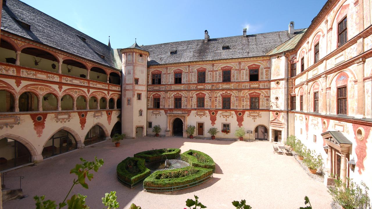 Tratzberg Castle between Jenbach and Schwaz