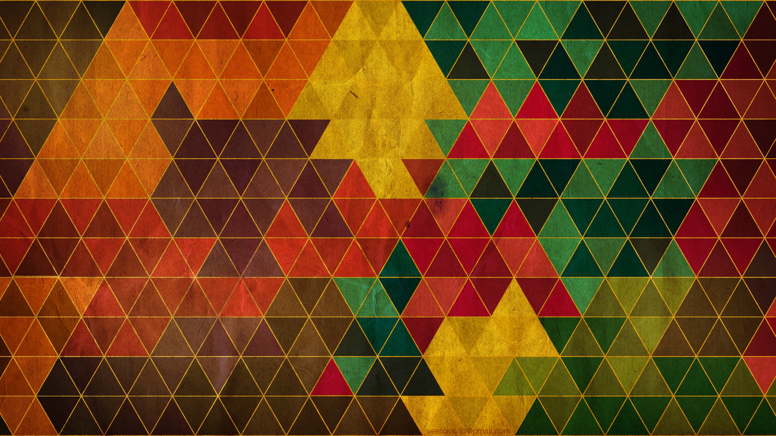 Abstract Triangle Wallpapers-4