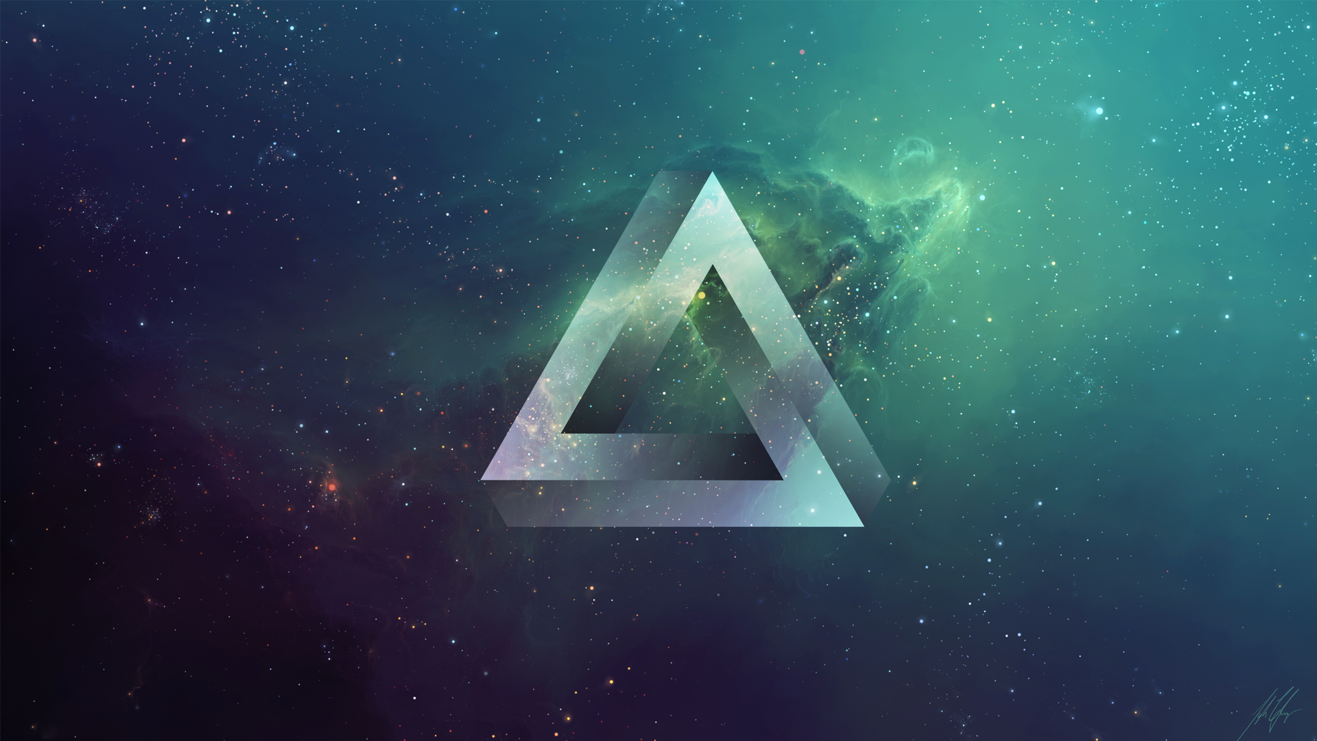 Triangle wallpaper | 1920x1080 | #44574