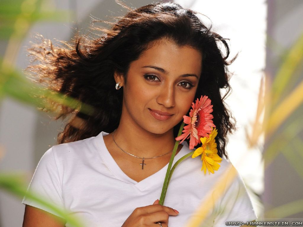 Wallpaper: Pretty Trisha Krishnan wallpapers
