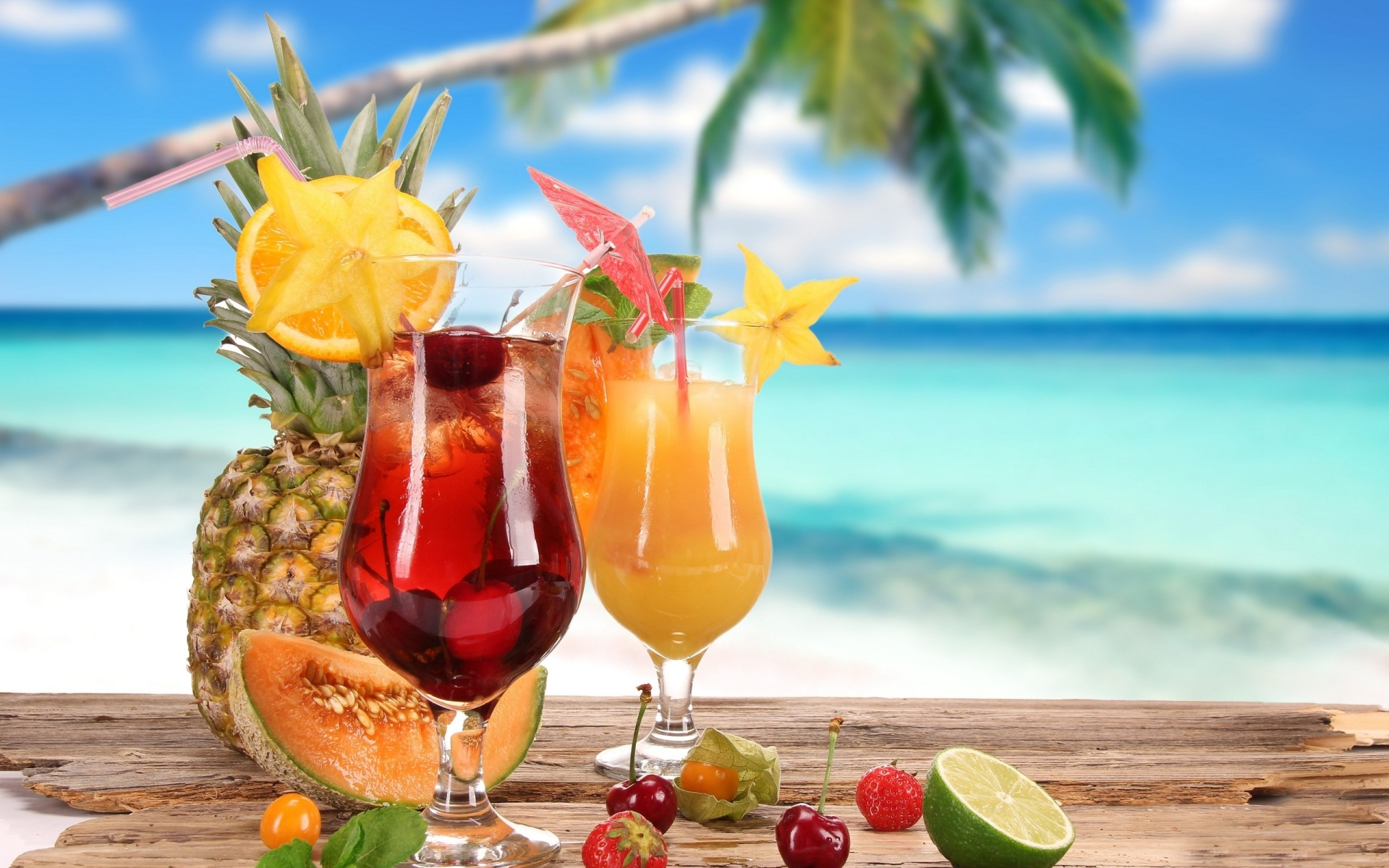 Tropical Cocktail Wallpapers
