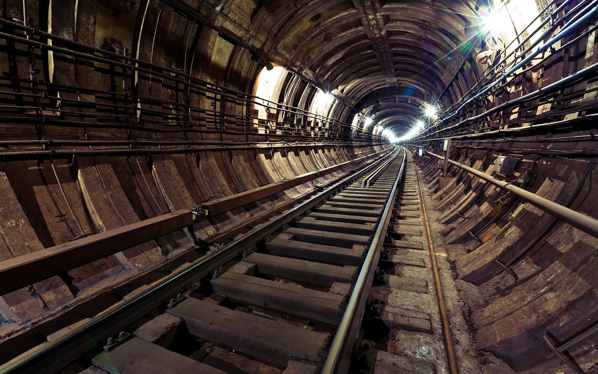 Train Tunnel Wallpaper