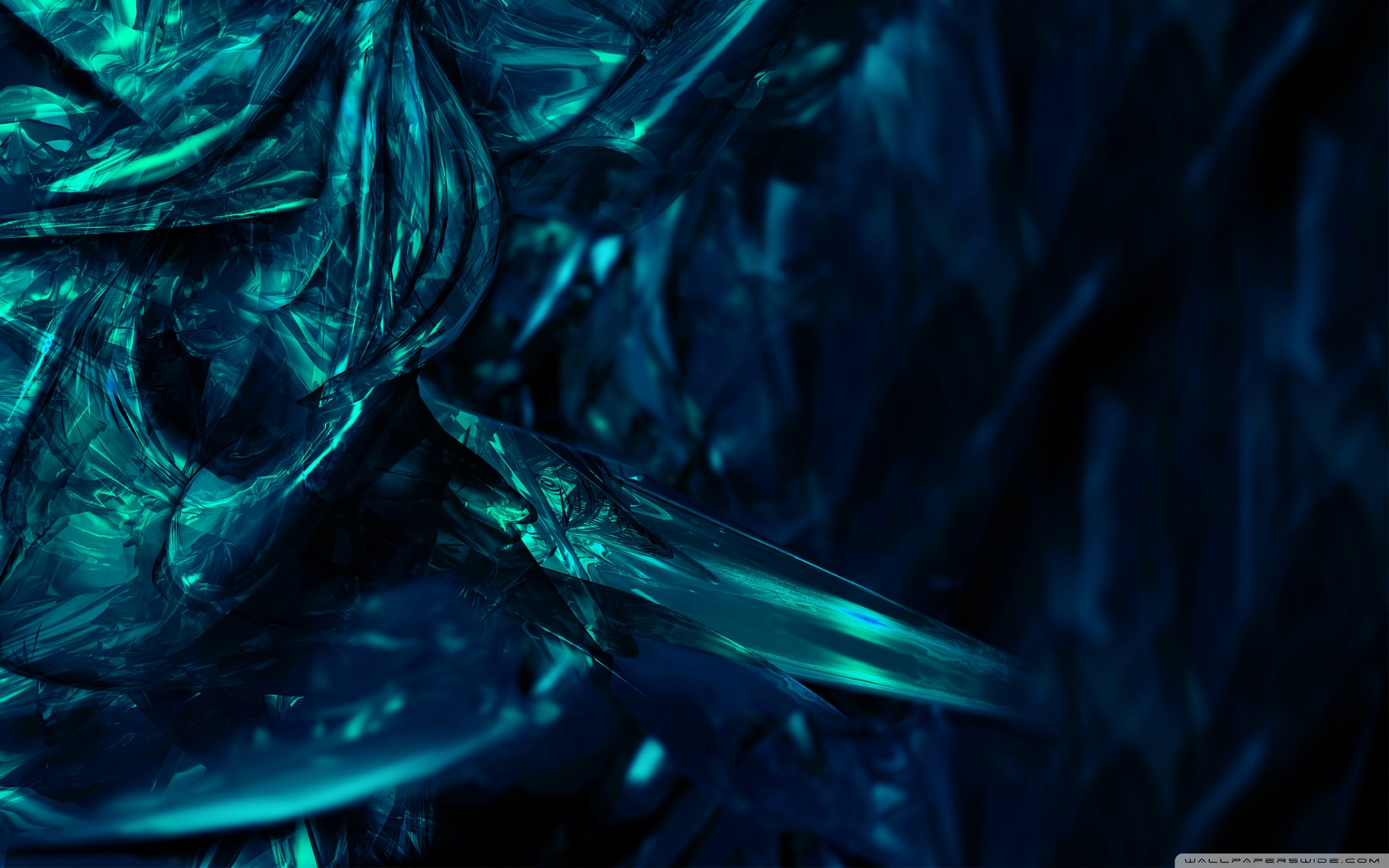 turquoise abstract computer wallpaper - photo #4