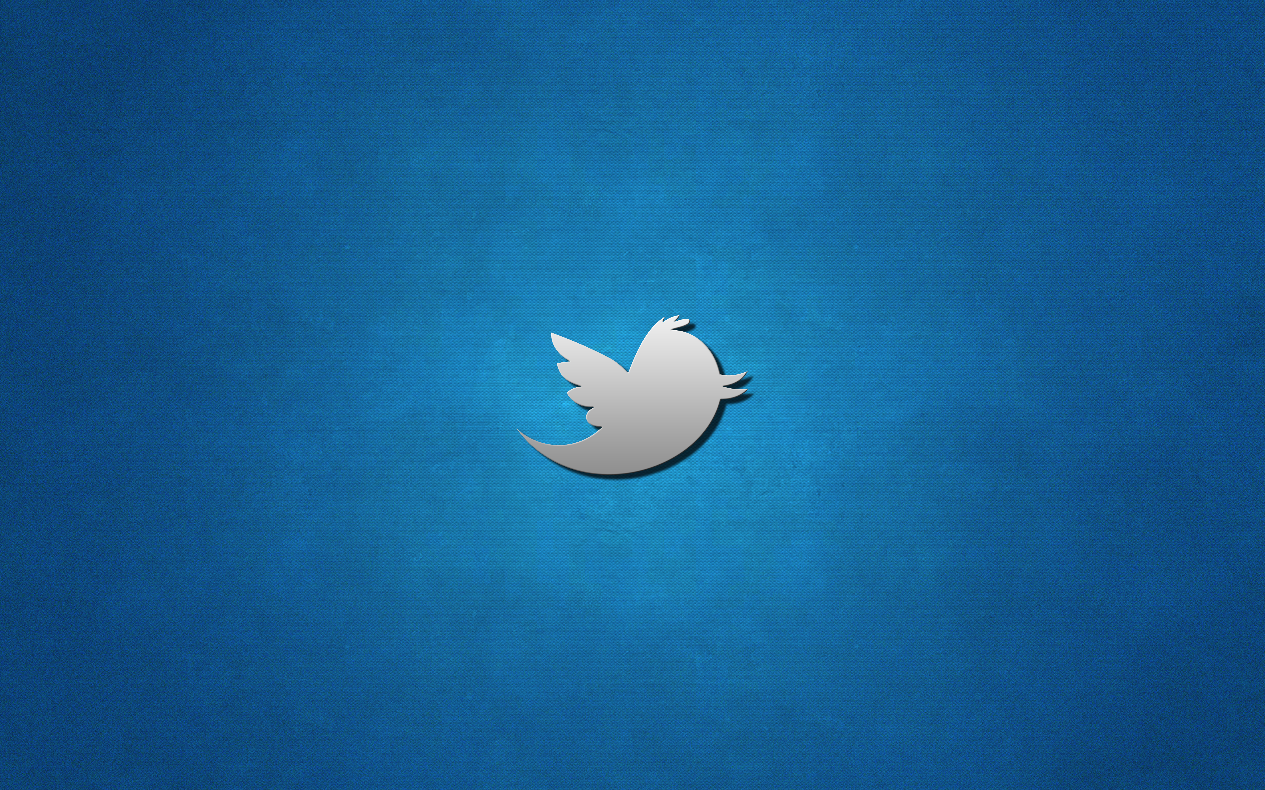 Outstanding Twitter Logo Hd Wide Desktop Wallpaper 5120x3200px