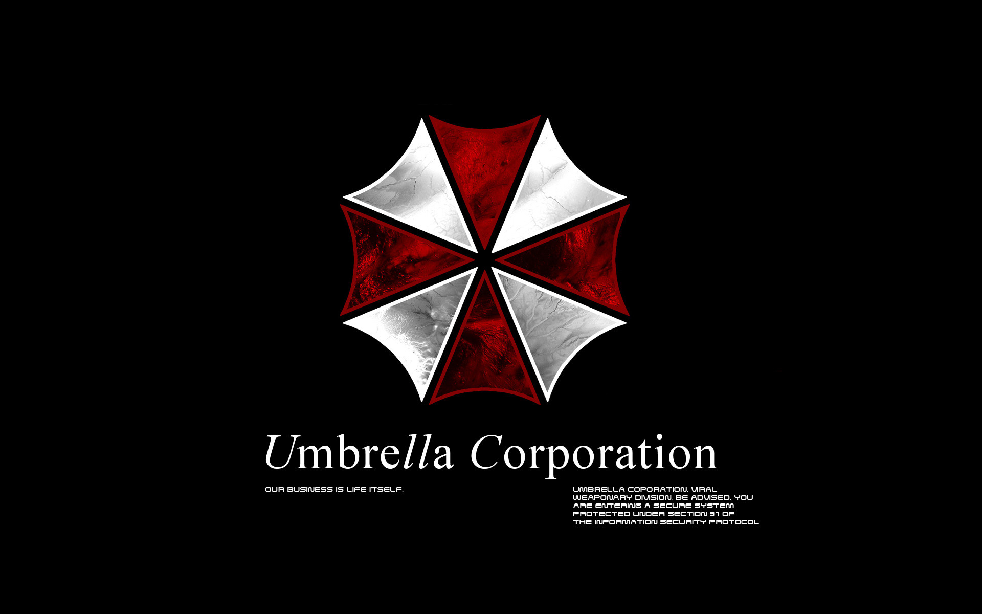 original wallpaper download: Umbrella Corporation Resident Evil - 1920x1200