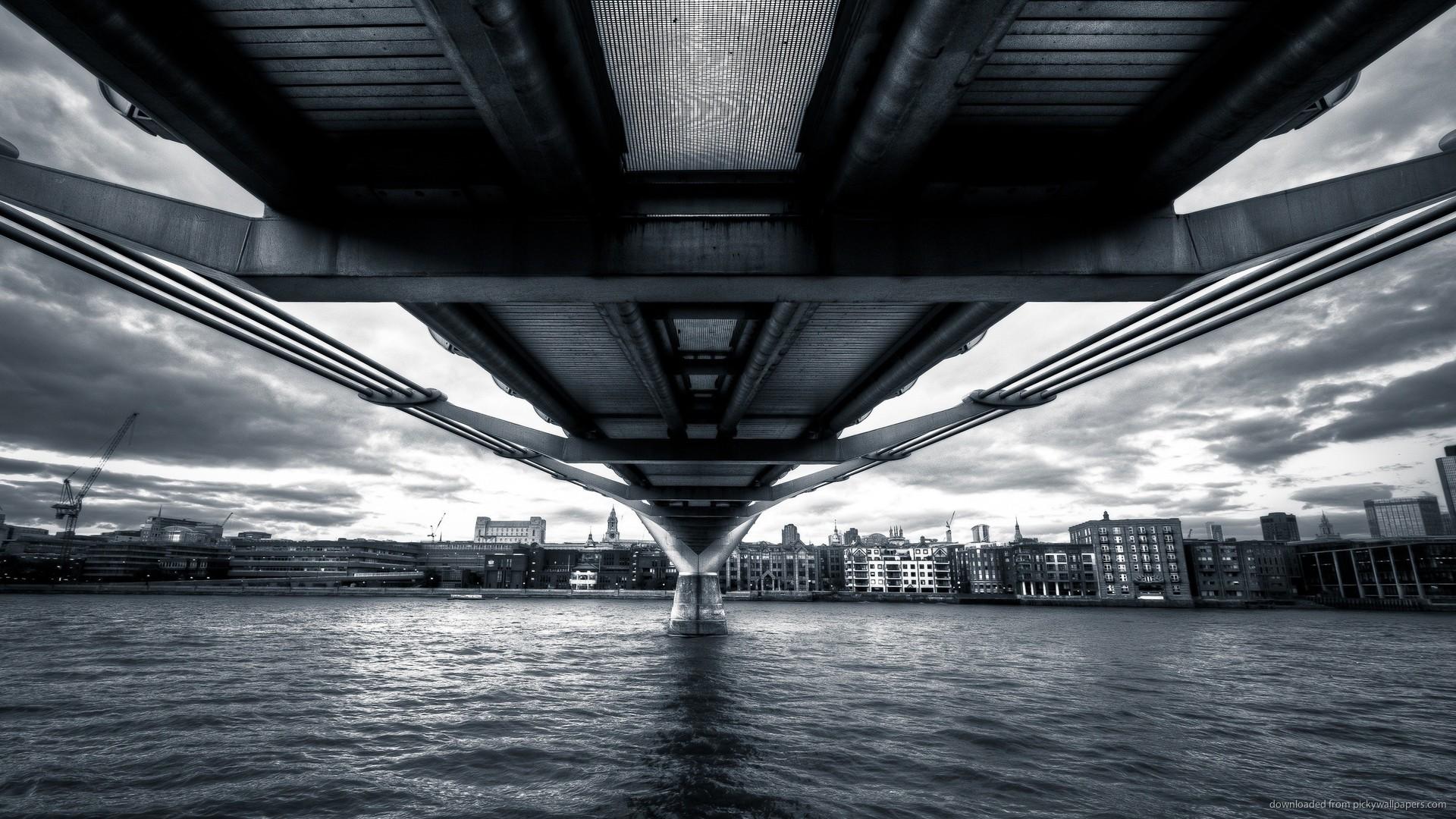 Under Bridge Wallpaper