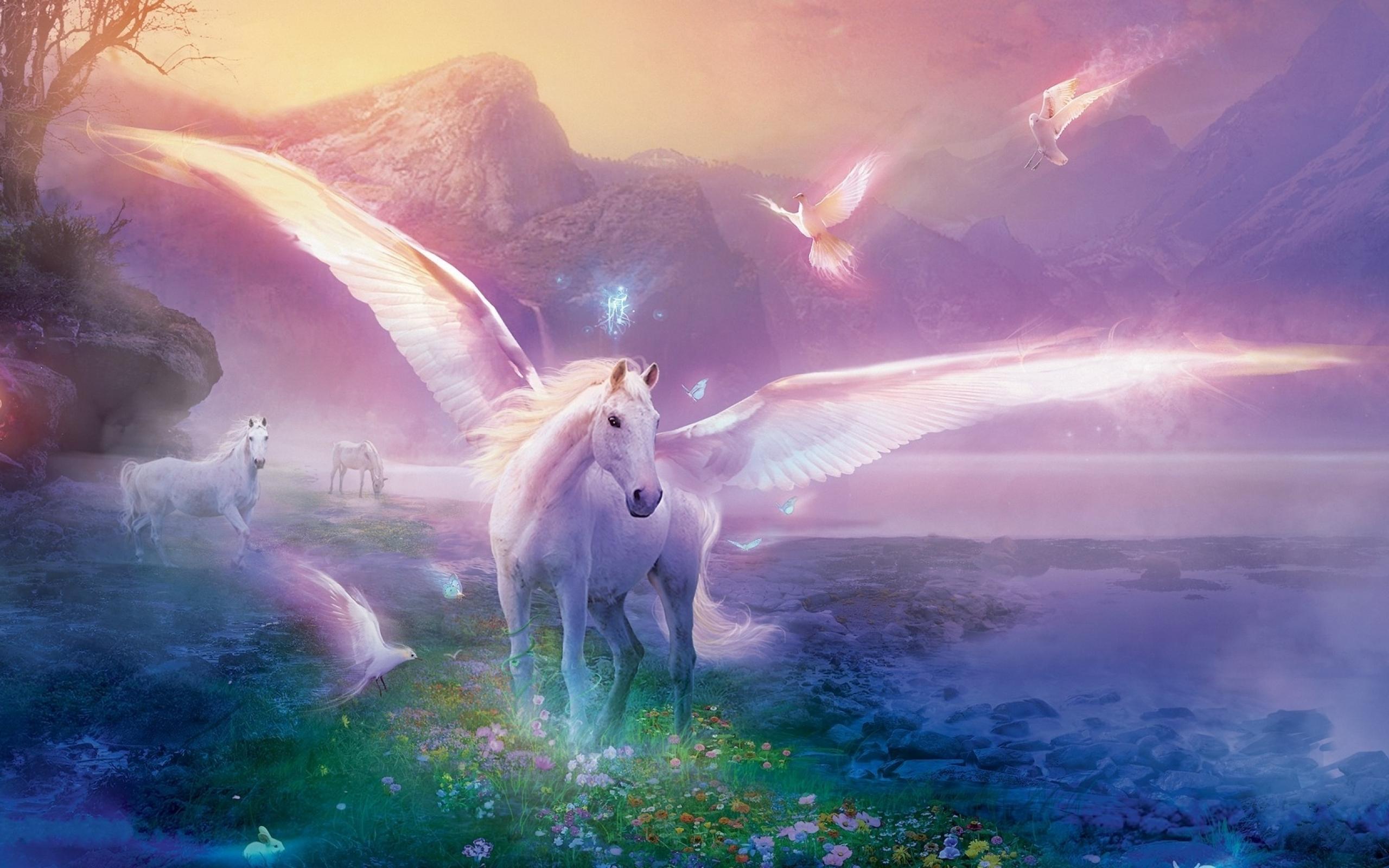 HD Wallpaper | Background ID:136423. 2560x1600 Fantasy Unicorn