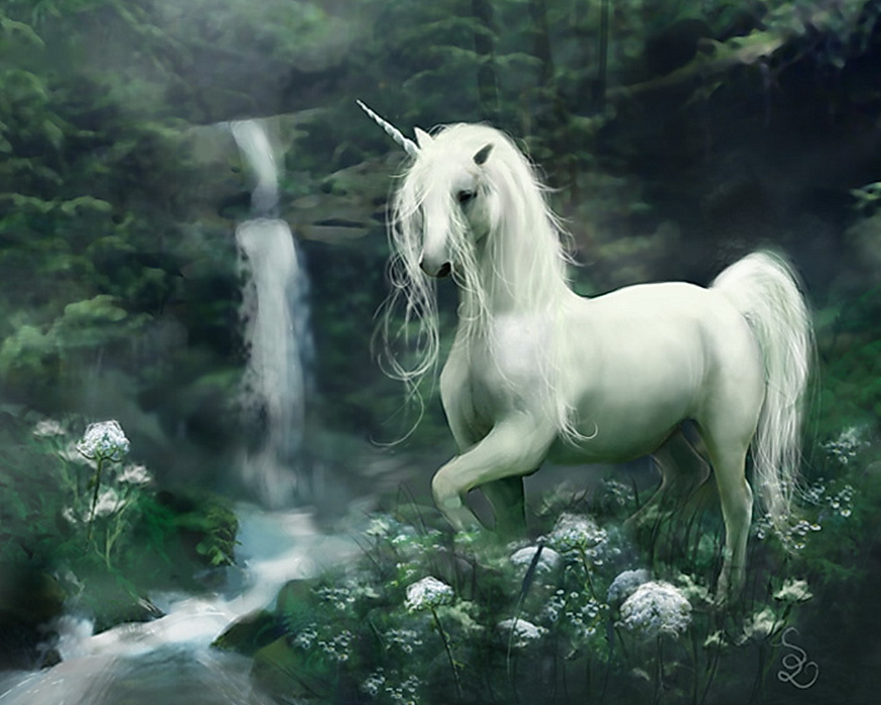 Magical animals Unicorns Fantasy