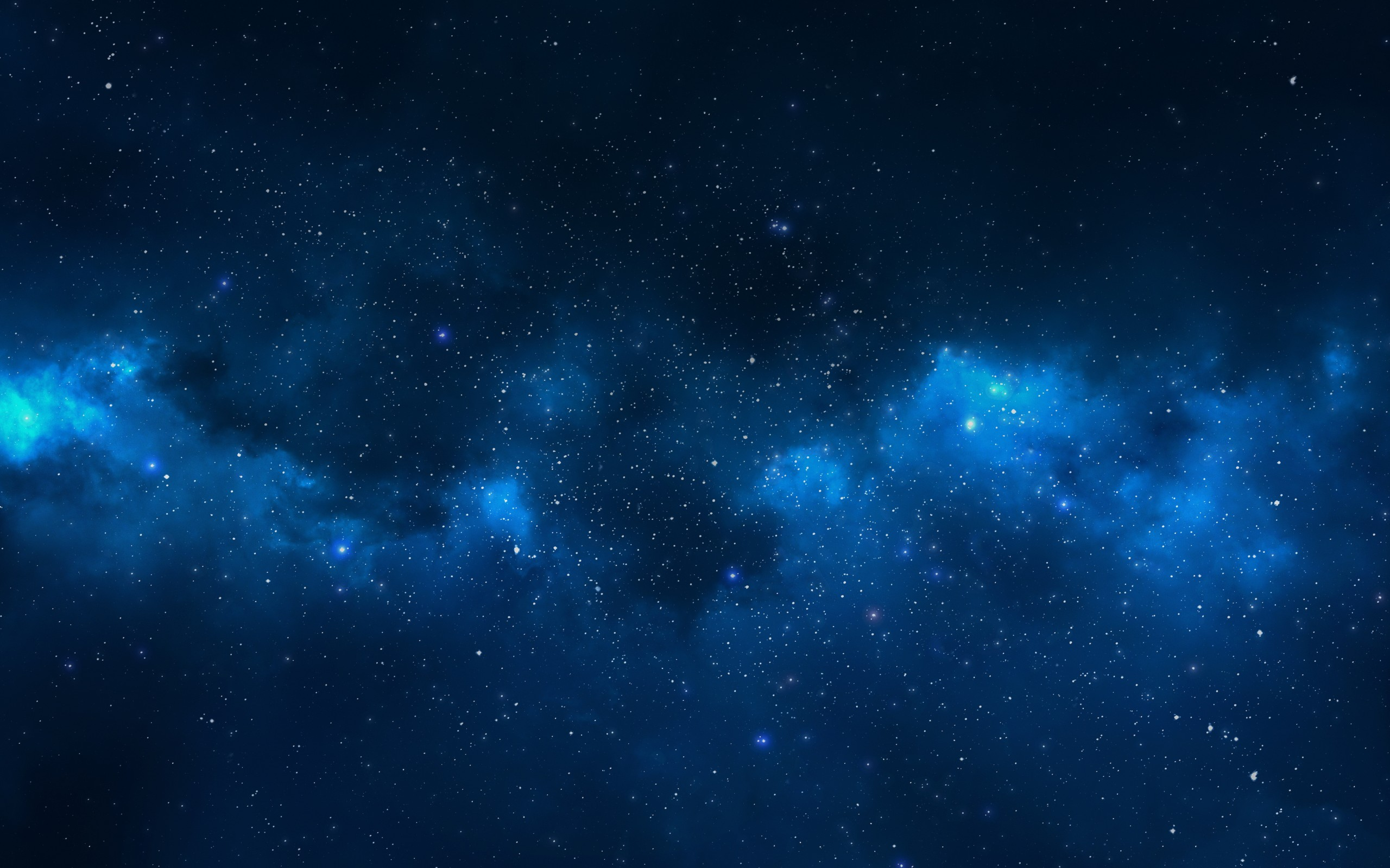 Milky Way stars nebula space universe wallpaper