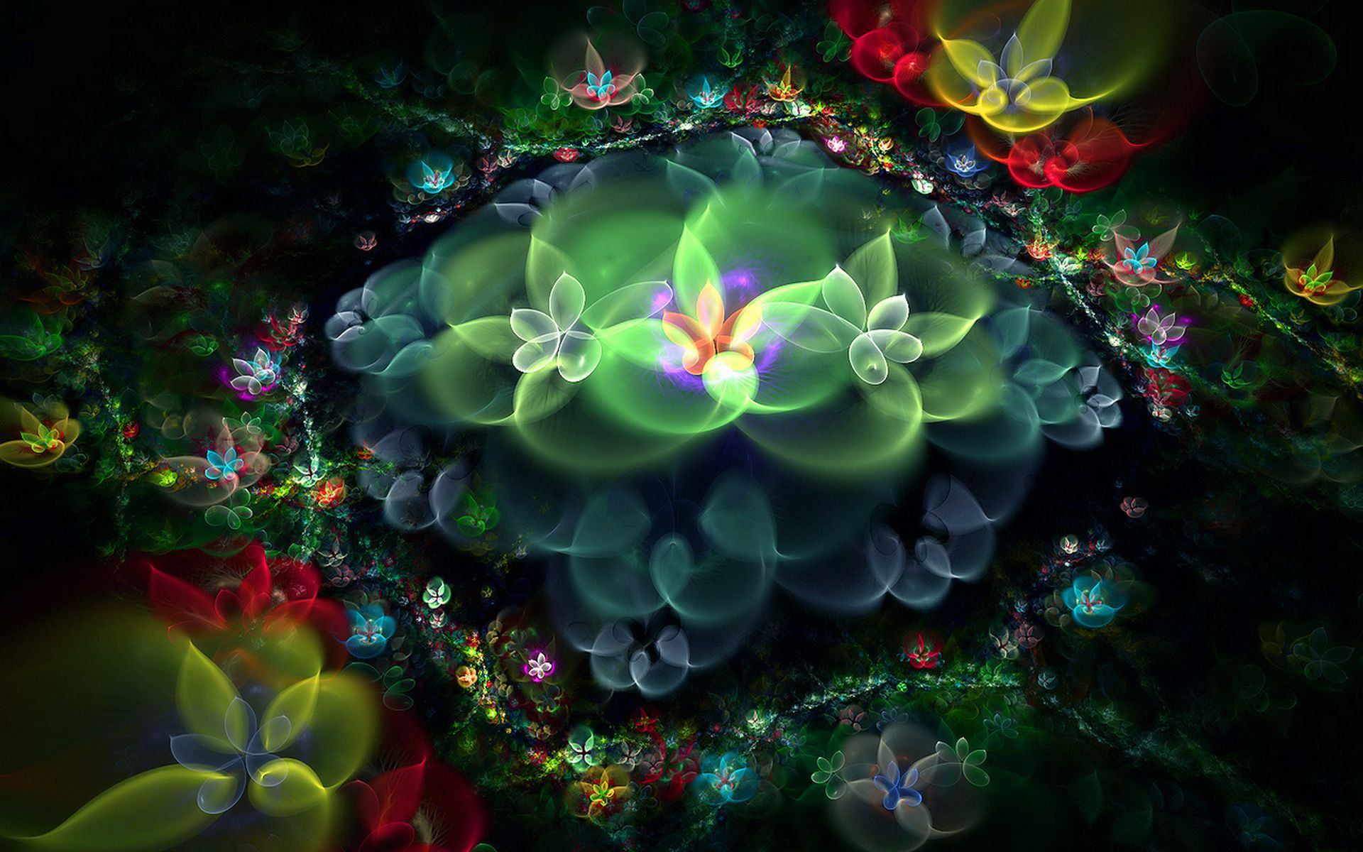 Abstraction, Picture, Colorfully, Unusual, Wallpaper 12