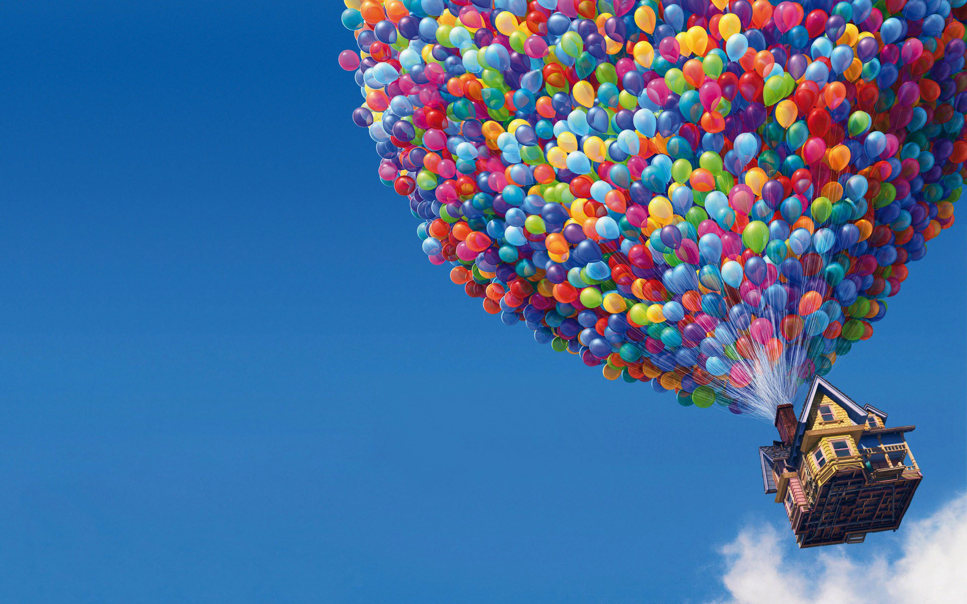 Balloons House In Up Movie