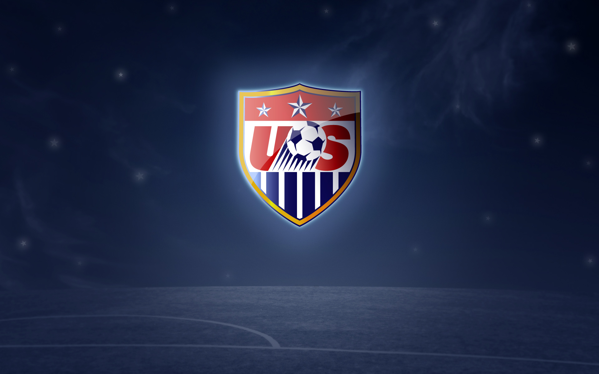 U.S. Soccer Logo Wallpaper