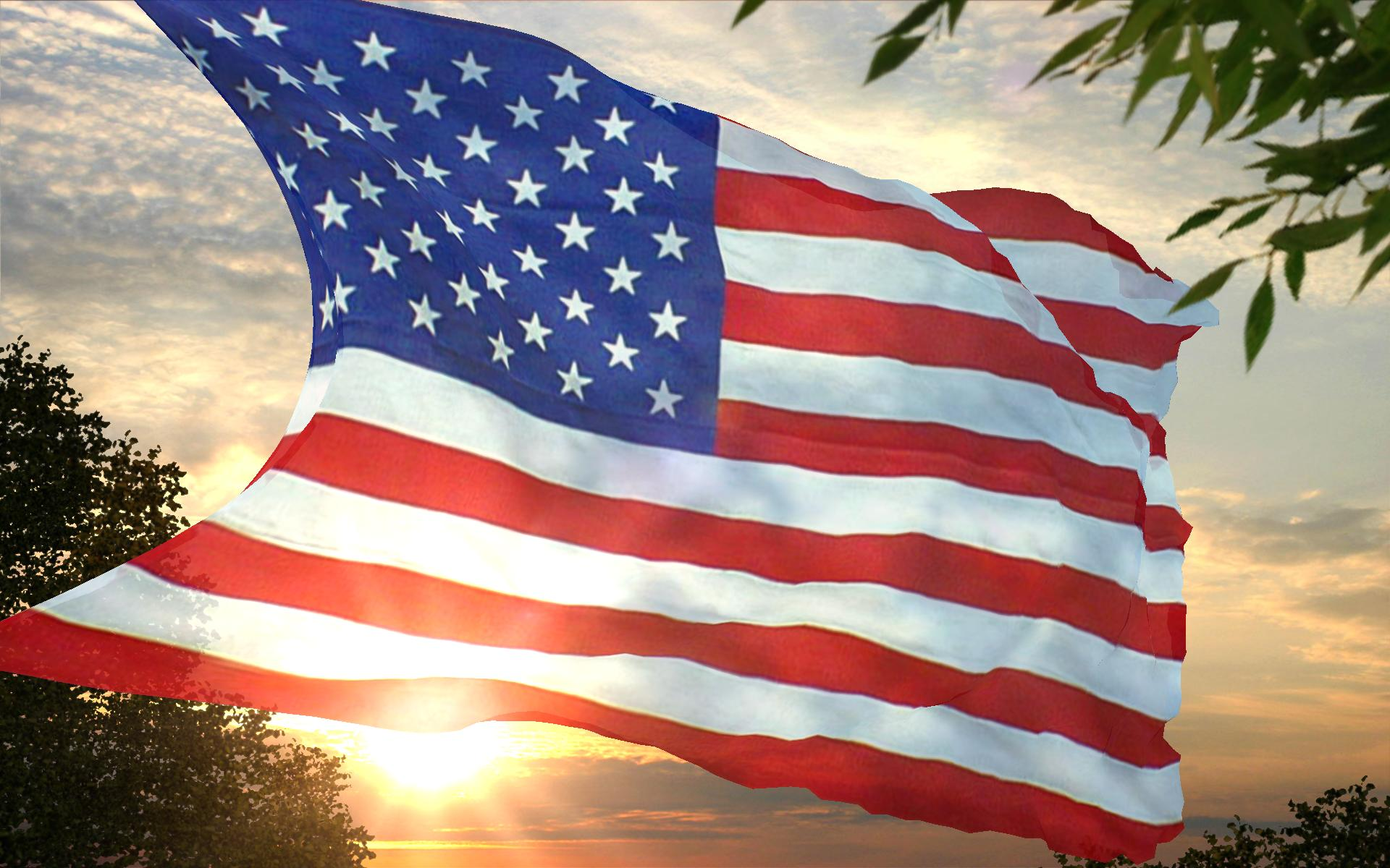 USA American Flag Wallpaper