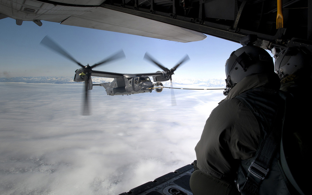 ... USAF CV-22 Osprey 1280x800 wallpaper