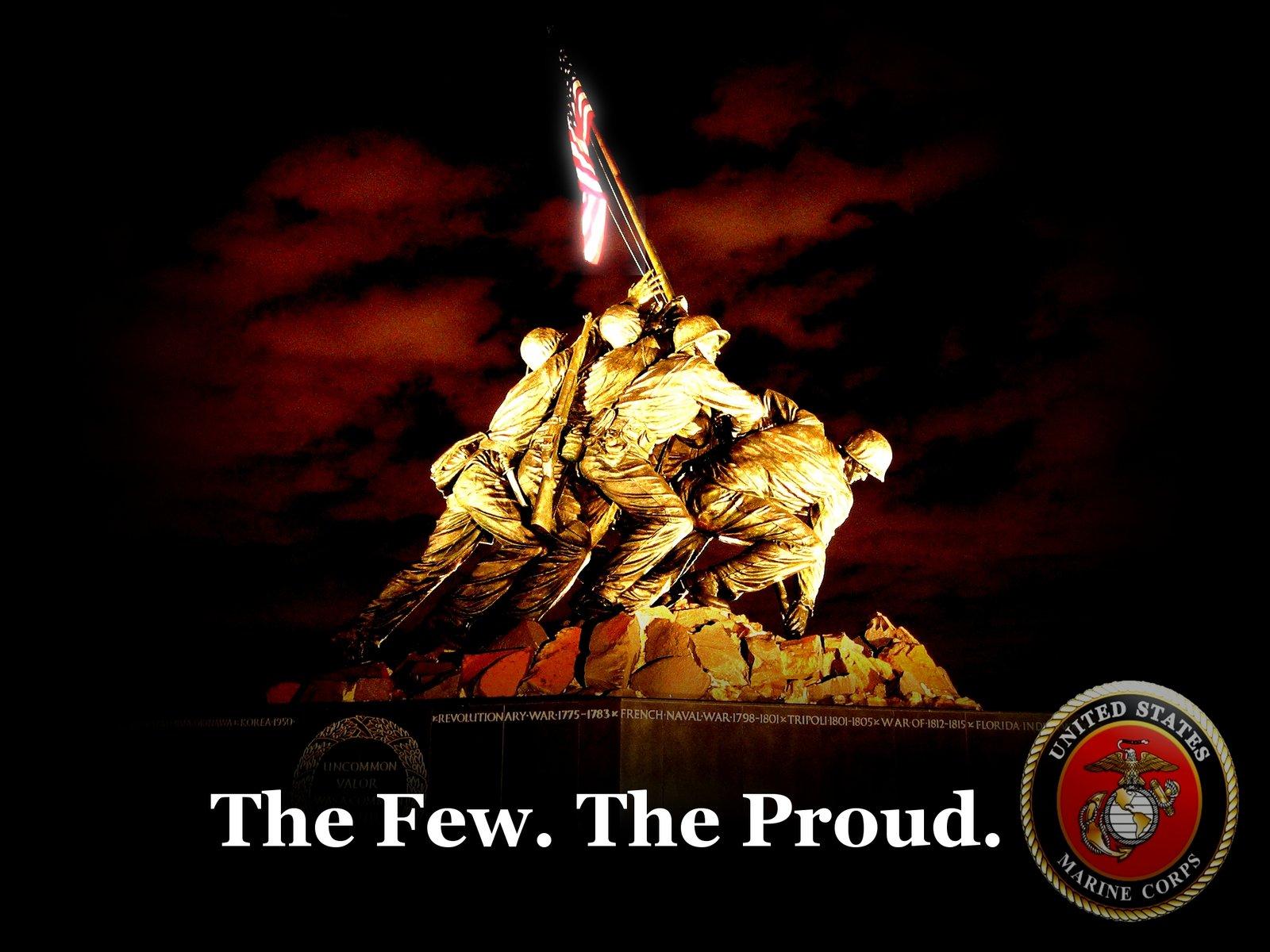 U.S. Marines Wallpaper by uedallas