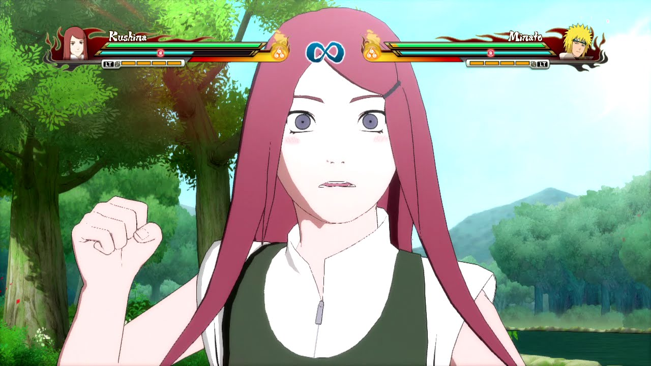Naruto Storm Revolution - Kushina Uzumaki Complete Moveset with Command List