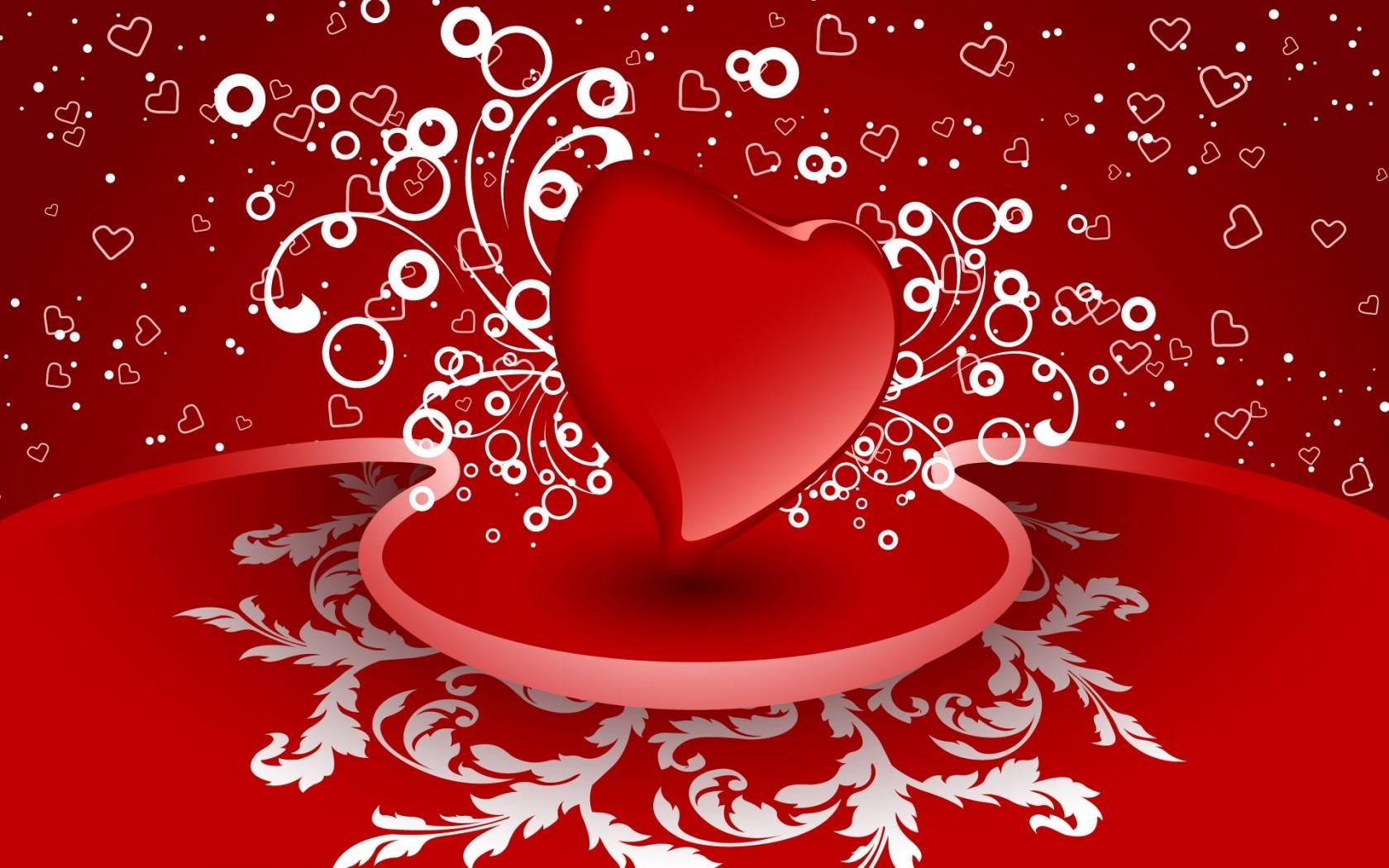 Valentine Background Wallpaper 1680x1050 68346