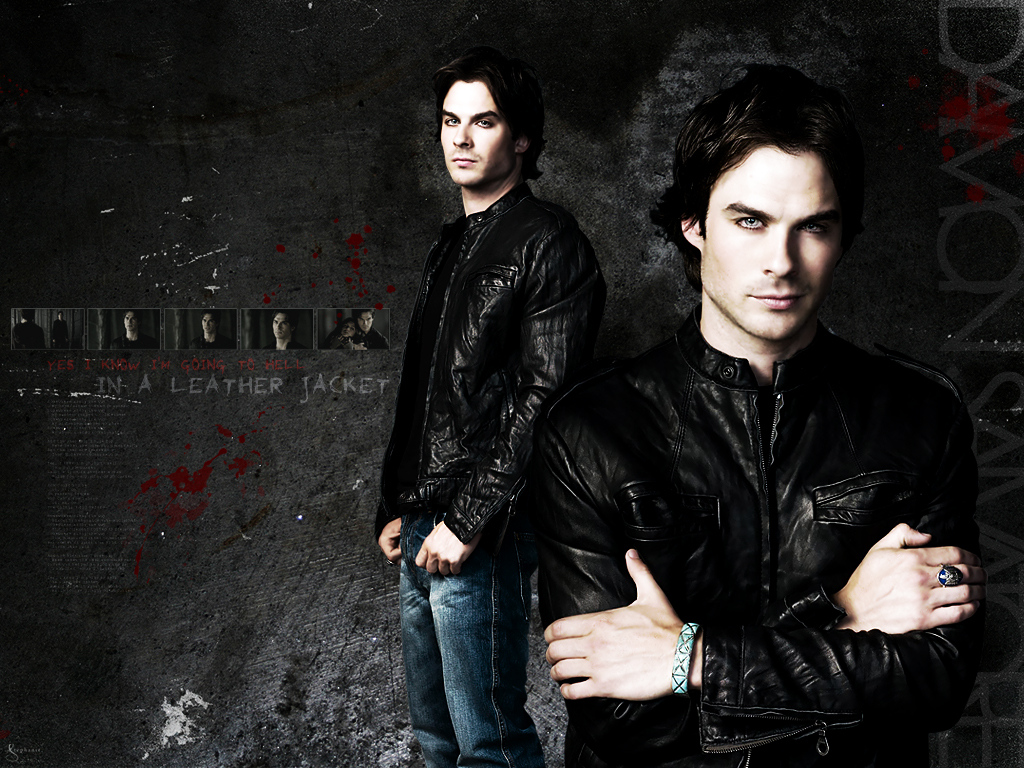 Damon Salvatore The Vampire Diaries Wallpaper