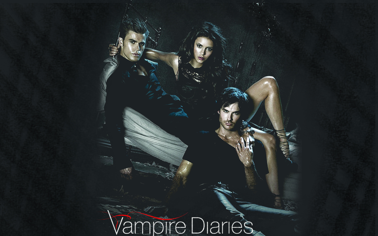 The Vampire Diaries TV Show Vampire Diaries Wallpaper