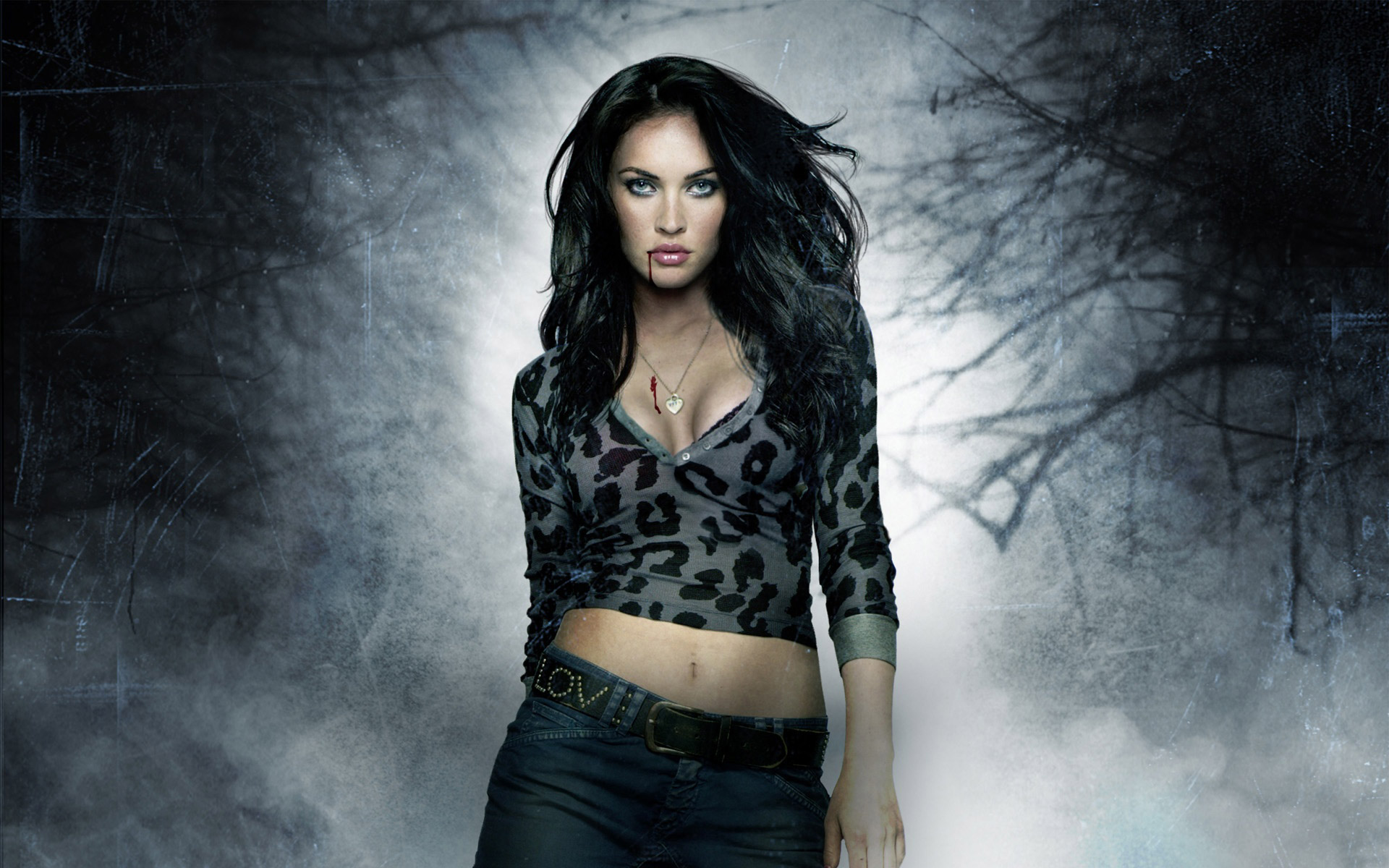 Vampire Megan Fox Wallpaper