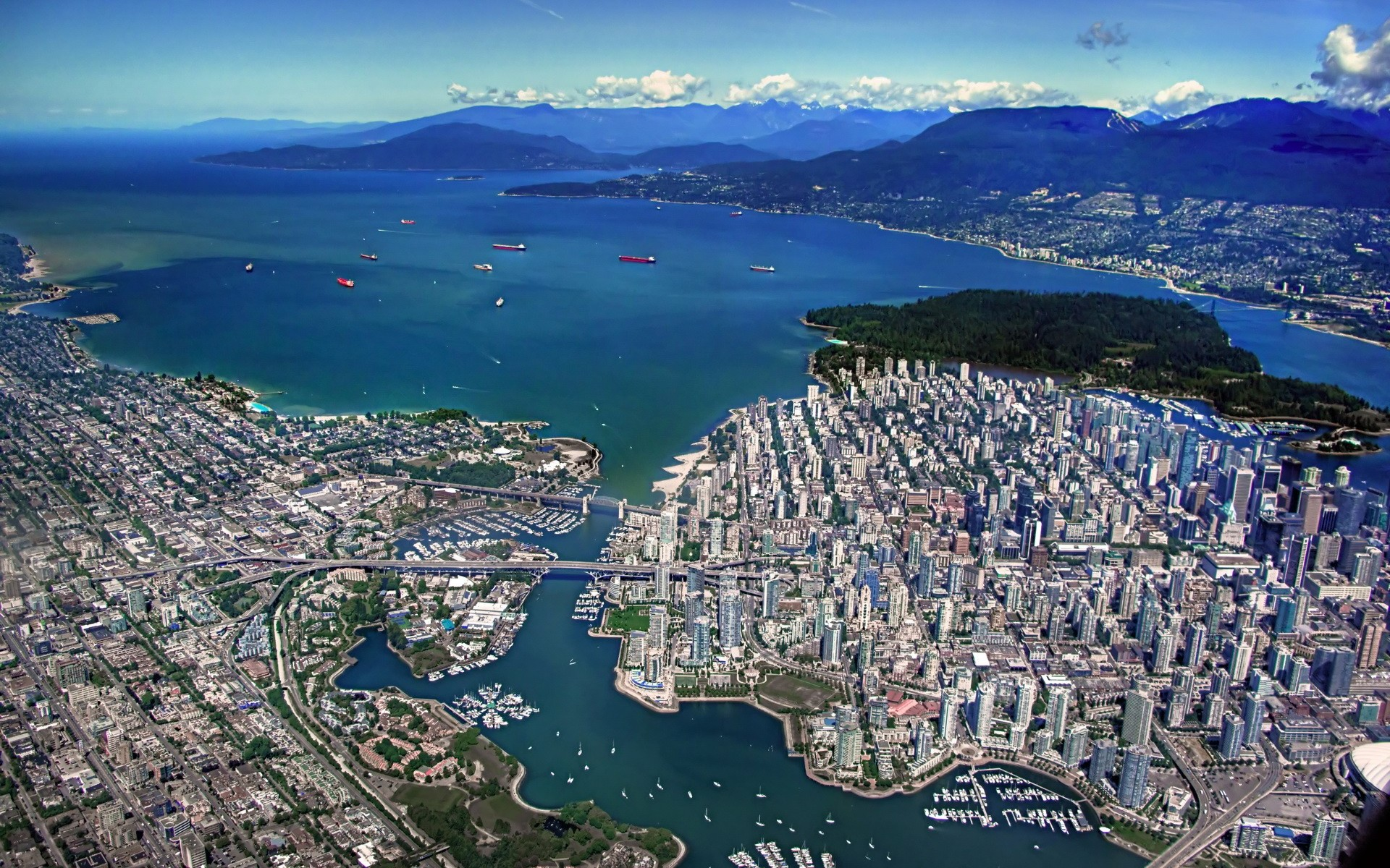 HD Wallpaper | Background ID:362437. 1920x1200 Man Made Vancouver