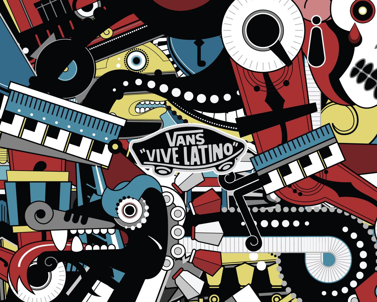 Marvellous Vans Logo Wallpaper 1280x1024px