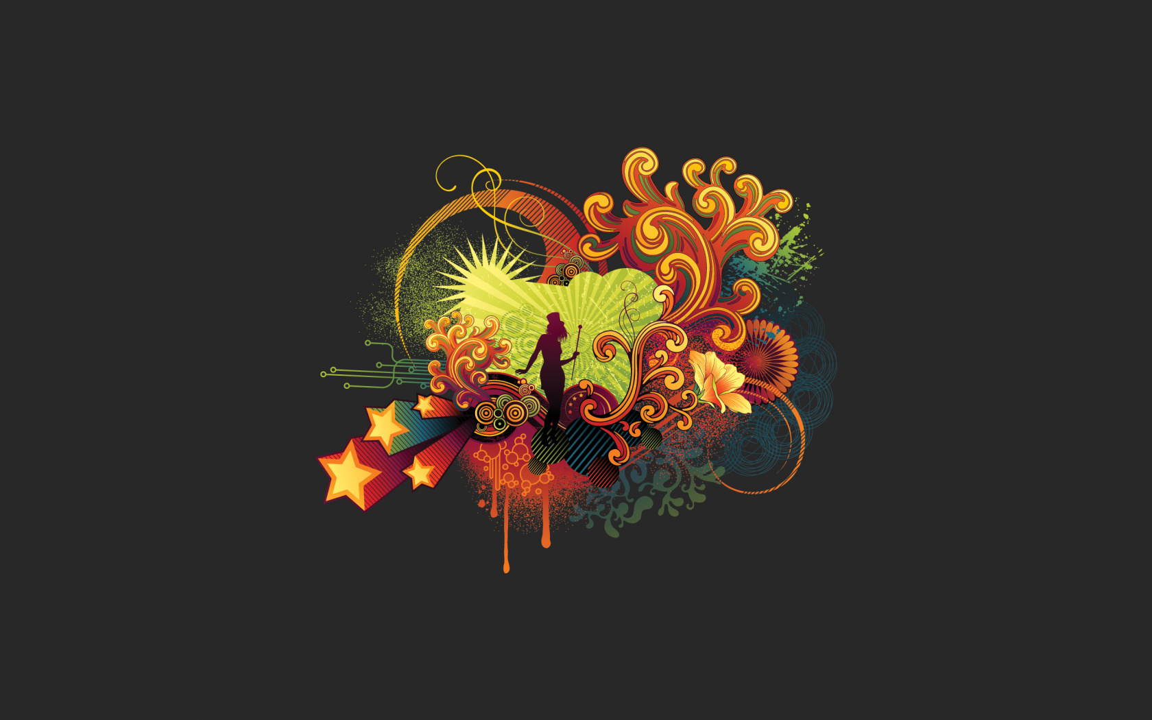 Vector Graphics HD Wallpaper