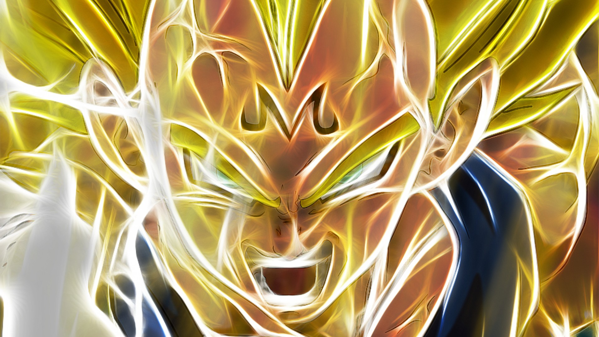 Vegeta Electric Face