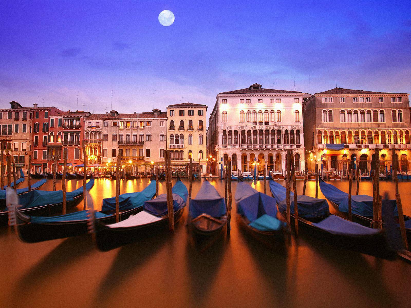 Gondolas (Venice, Italy)