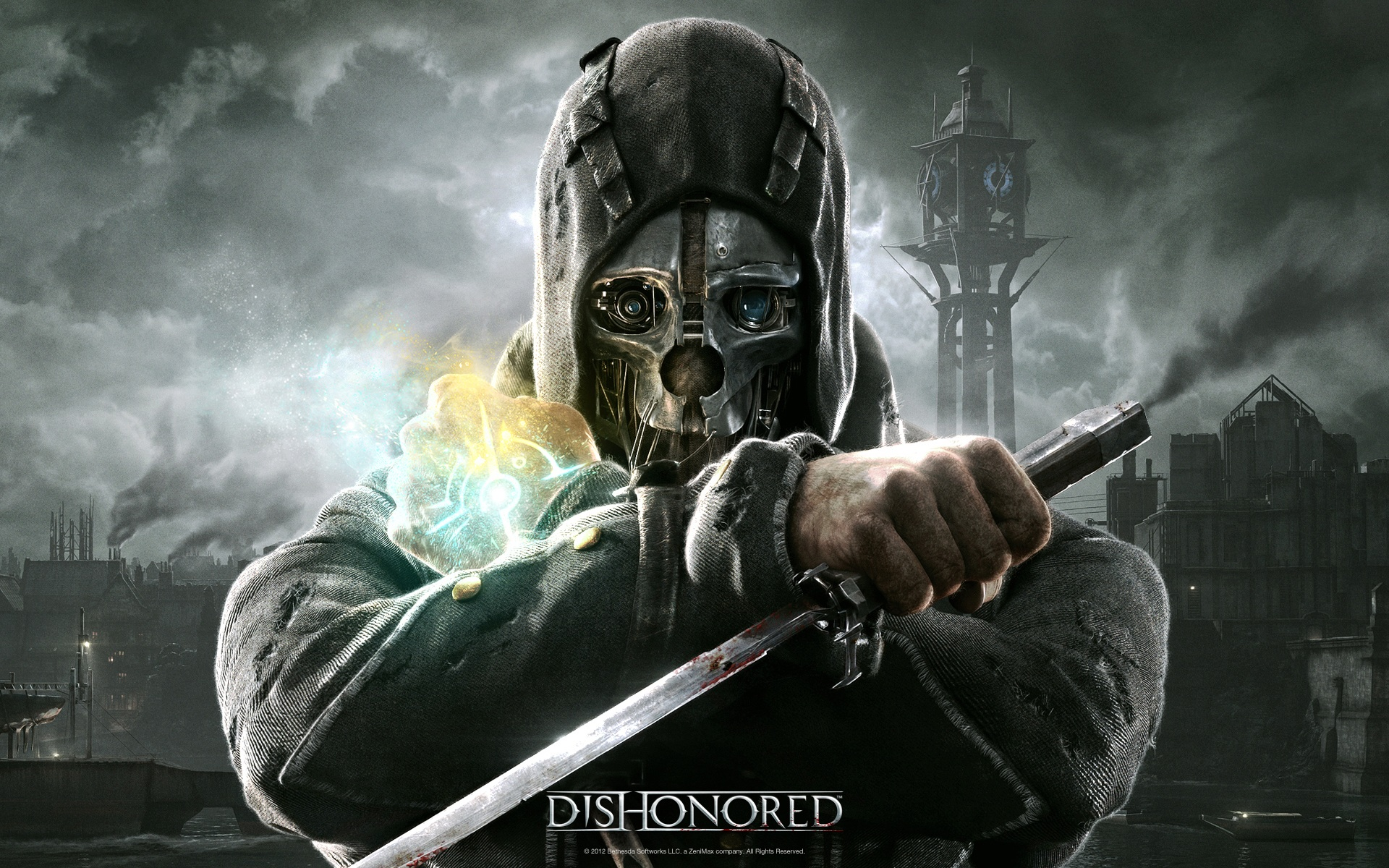 Dishonored (20 Amazing HD Video Game Wallpapers – 1920 x 1080): Dishonored. F1 (20 Amazing HD Video Game Wallpapers ...