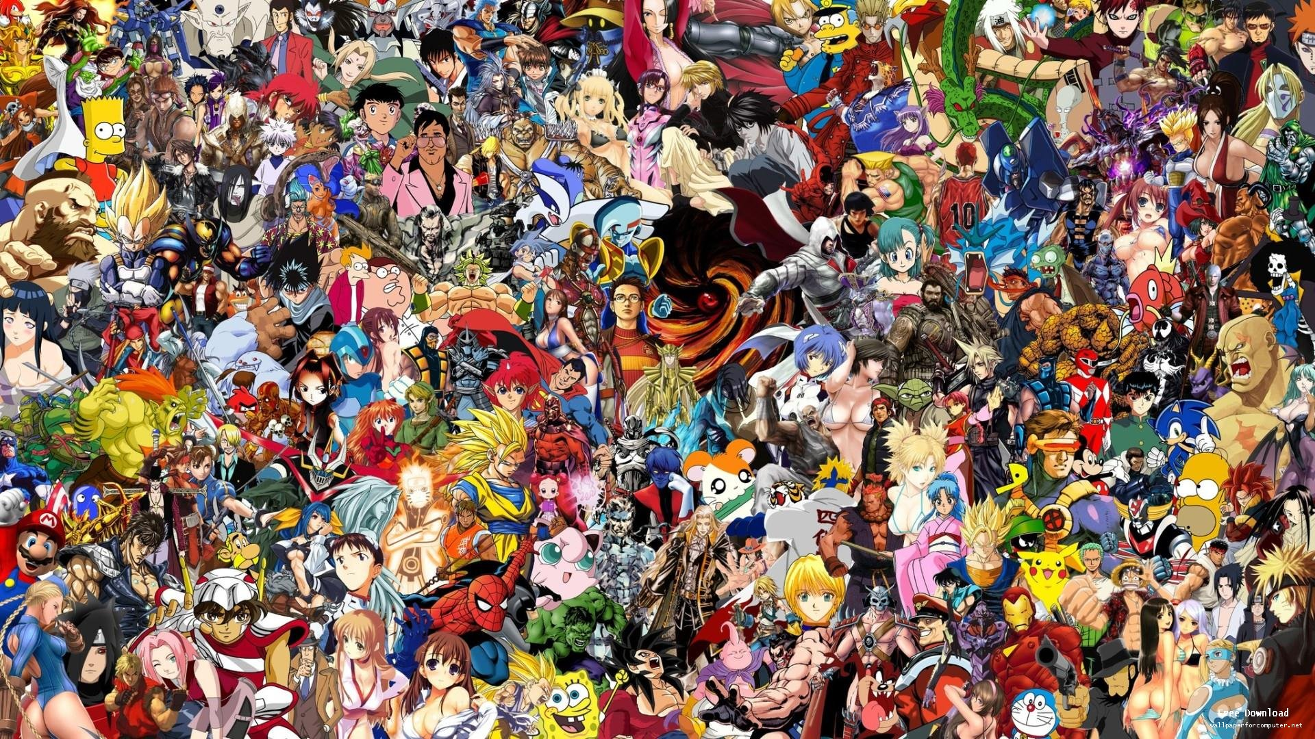 Video Game Characters Wallpaper Hd Background Xpx