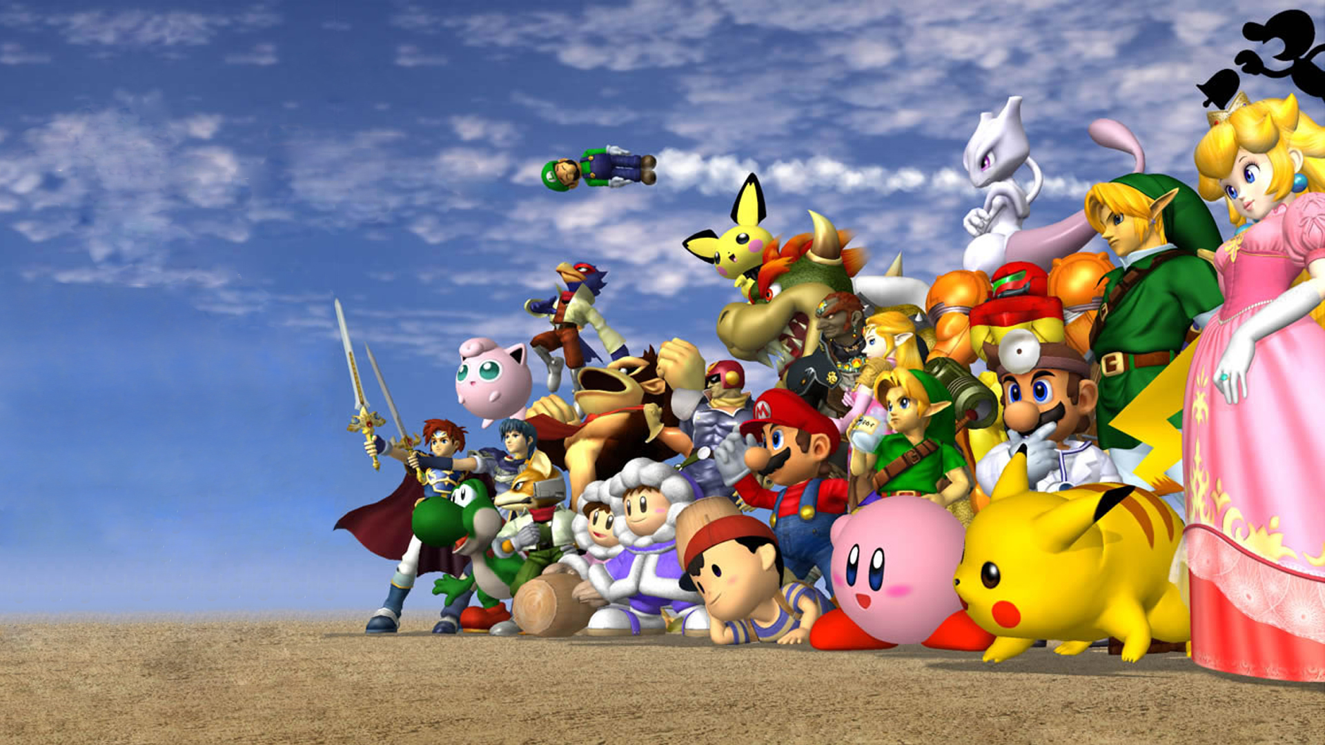 Nintendo Game Characters Res: 1920x1080 HD / Size:1174kb. Views: 64121