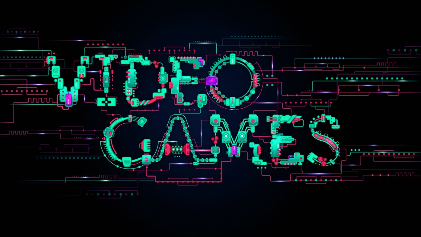 Video Game Wallpaper 222 Text HD Backgrounds
