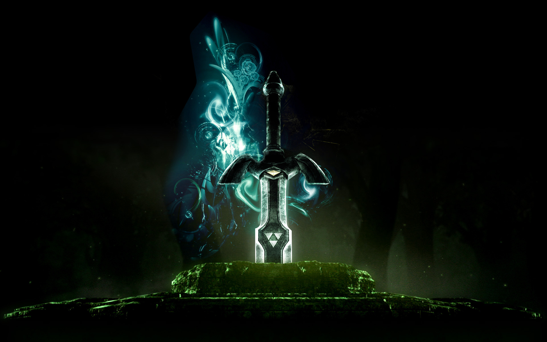 Video Game Wallpapers 250 Blue Sword Zelda