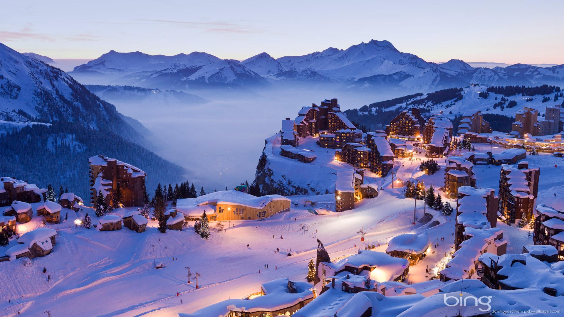 Bing Winter Village picture