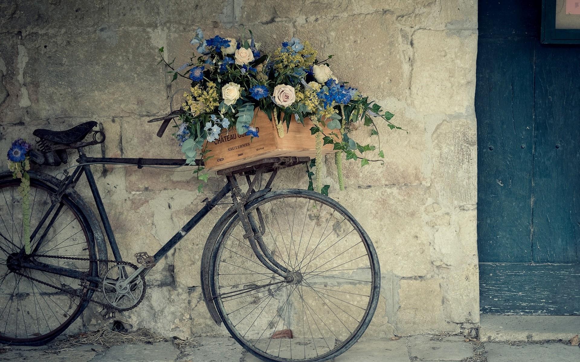 Vintage Bicycle Wallpaper