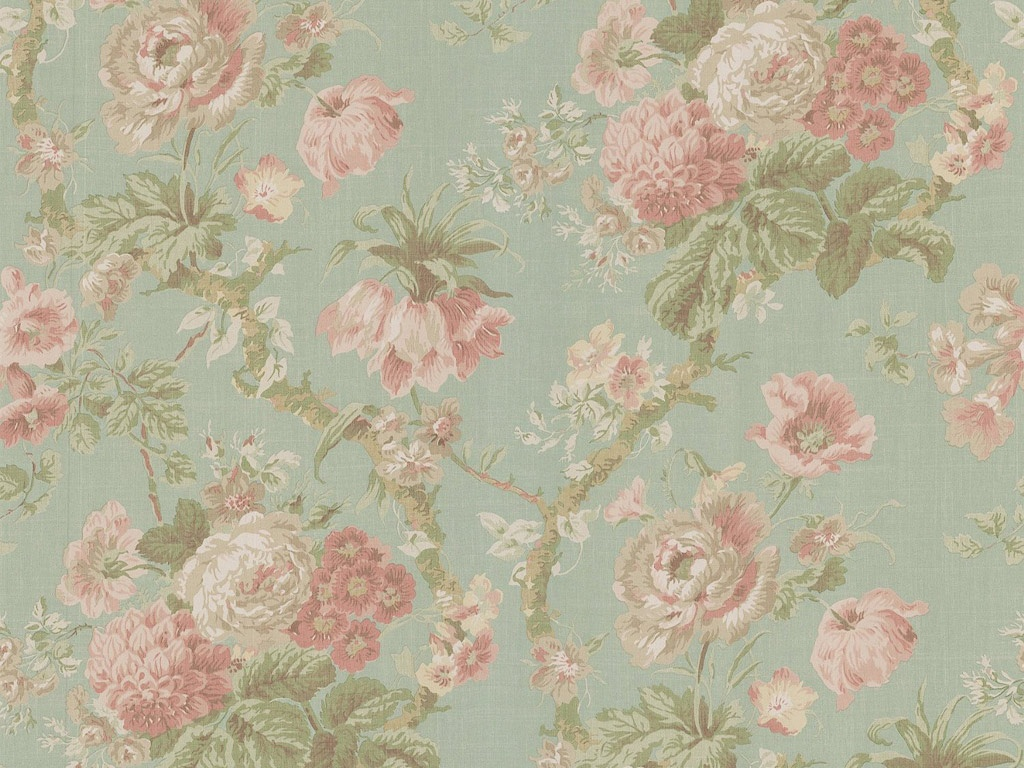 Vintage flowers background wallpaper 1024x768 23695 for Pretty wallpaper for walls