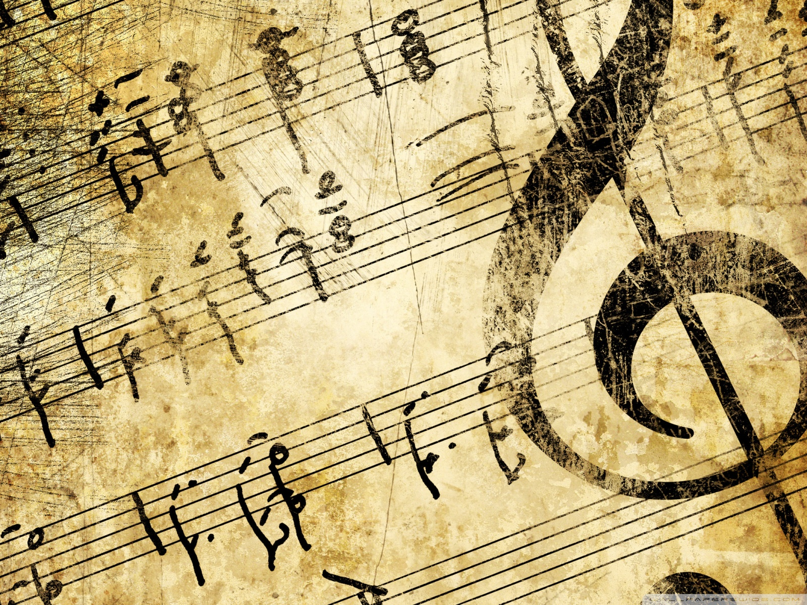 Vintage Music Wallpaper