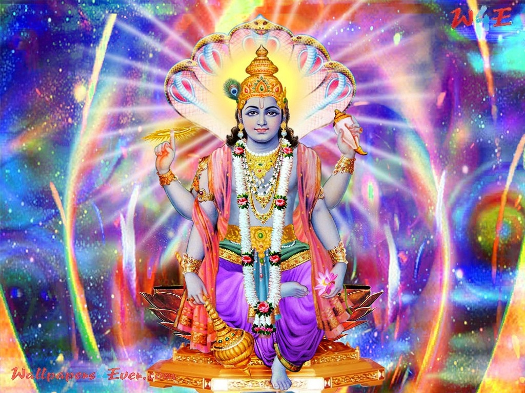 (Incarnation as the Pre-eminent man) : Lord Vishnu took his first incarnation as the pre-eminent man,with a desire to commence creation.