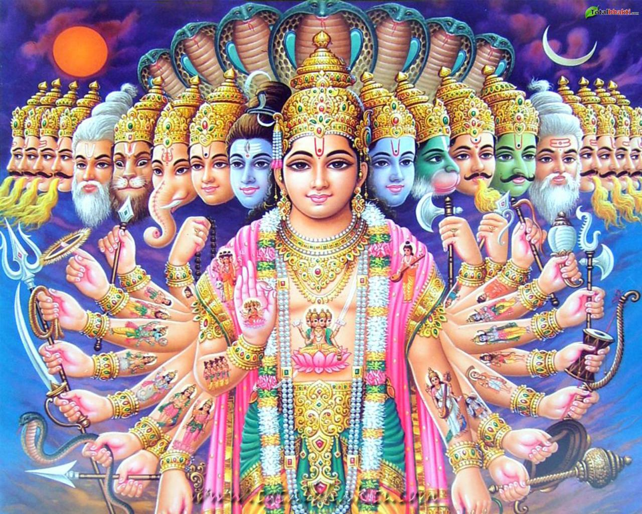 24 Avataars of Bhagwan Vishnu