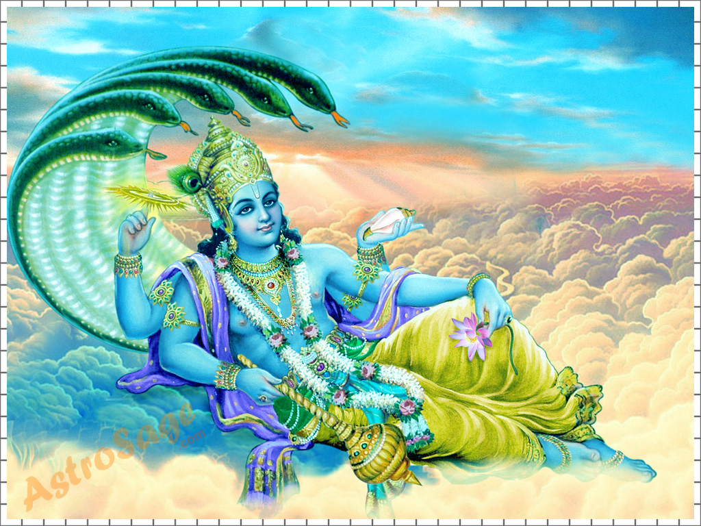 Download Wallpapers of Vishnu
