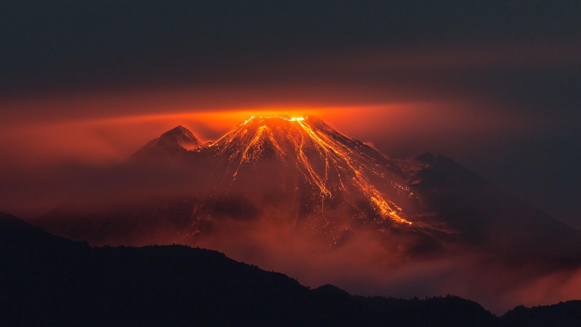 1920x1080 Earth Volcano