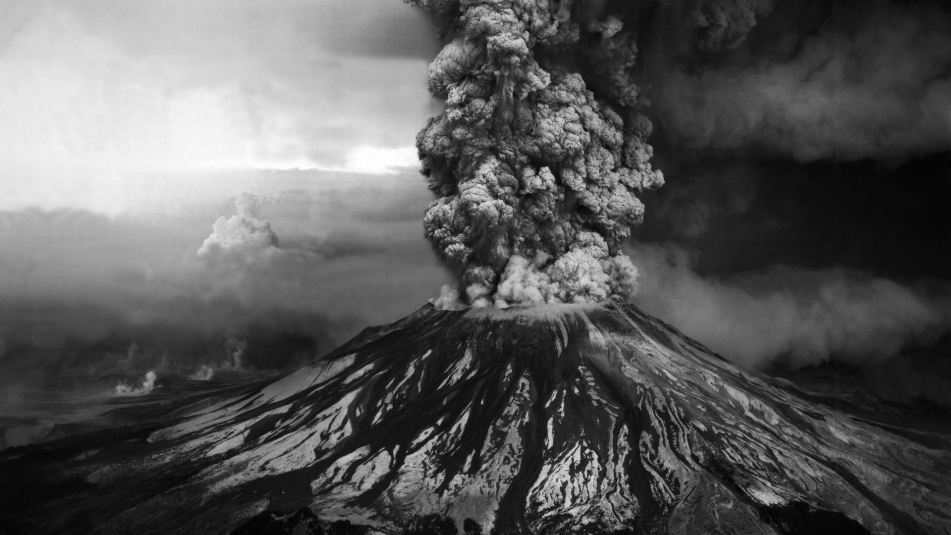 1920x1080 Volcanoes Smoke wallpaper