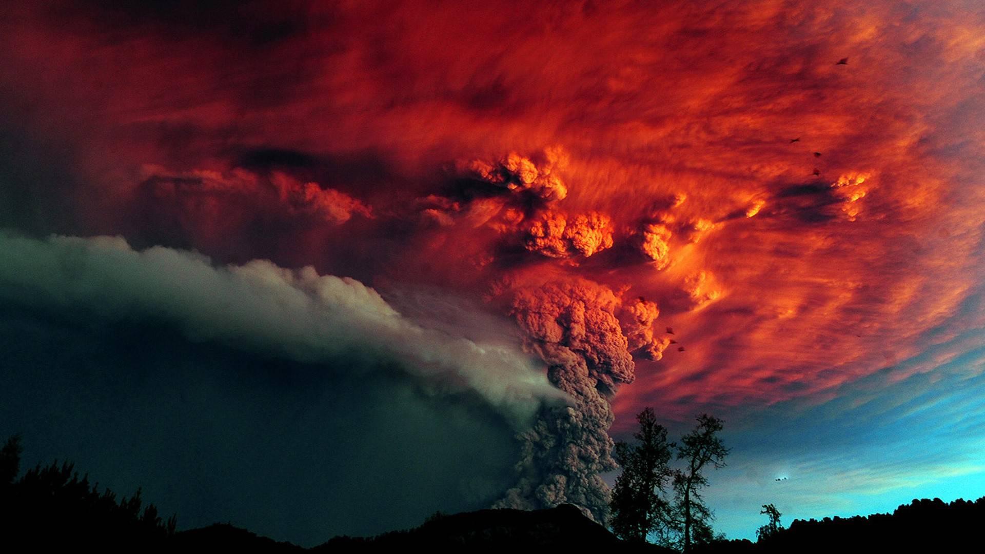 volcano background best image