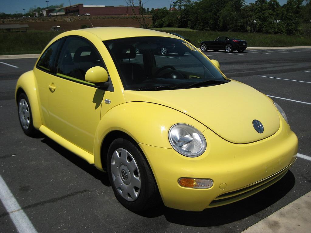 Volkswagen Beetle Bug Yellow