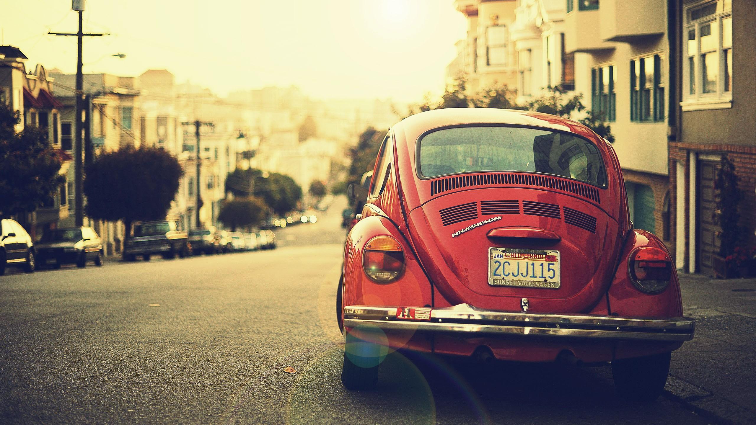 Volkswagen Beetle Vintage Photography